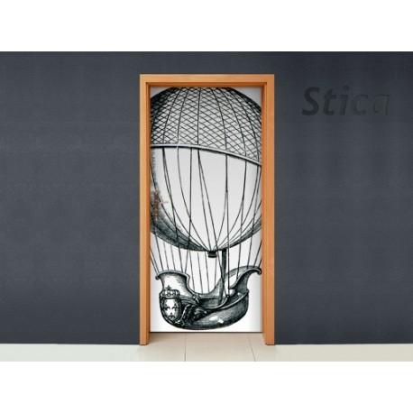 Vinilo Grabado ii puerta-vinilos-decorativos