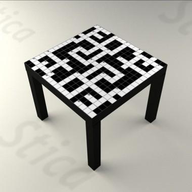 vinilos imagen producto Crucigrama Mesa 55 x 55