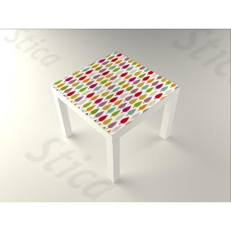Hojas Color Mesa 55 x 55 imagen vinilo decorativo
