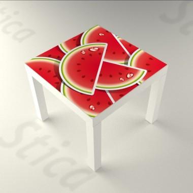 Sandias Mesa 55 x 55 imagen vinilo decorativo