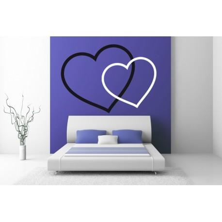 vinilos imagen producto Amor para Cabecero