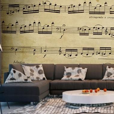 pegatina decorativa Fotomural Música