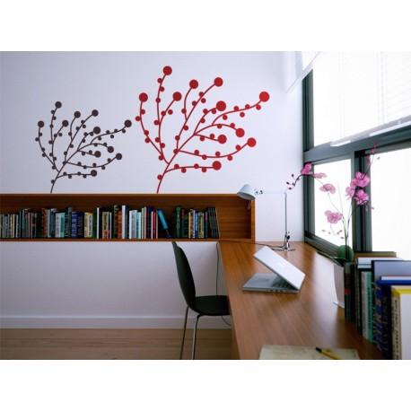 Silvestre decoración con vinilo