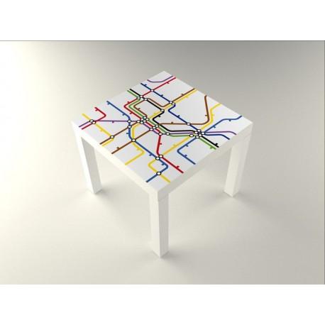 adhesivo decorativo Metro Mesa 55 x 55