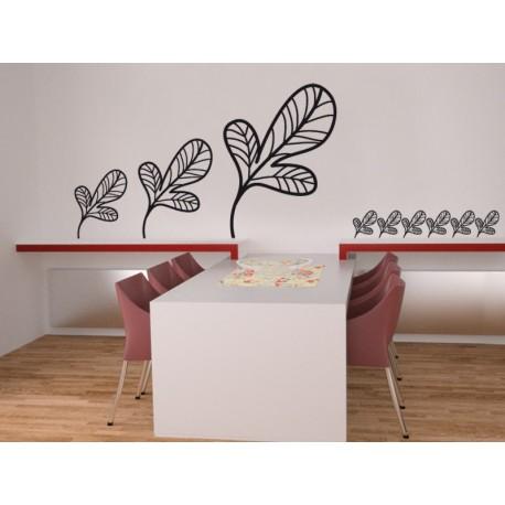 Hoja Silvestre adhesivo decorativo ambiente