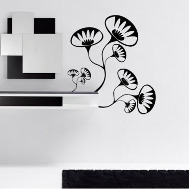 Flor Jazz adhesivo decorativo ambiente