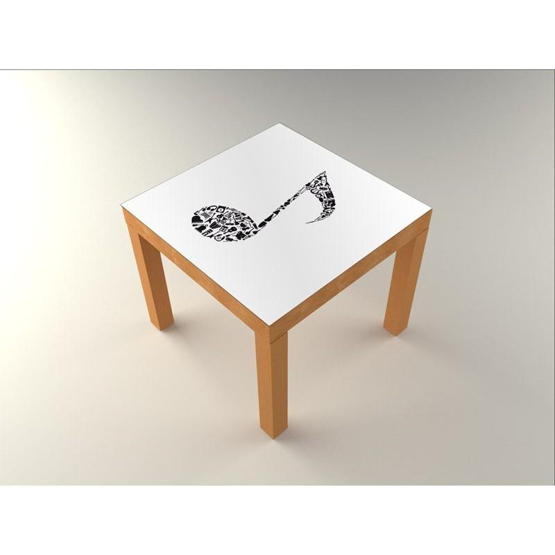 Vinilo nota mesa 55 x 55 - Vinilos para mesas ...