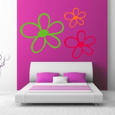 Florin decoración con vinilo