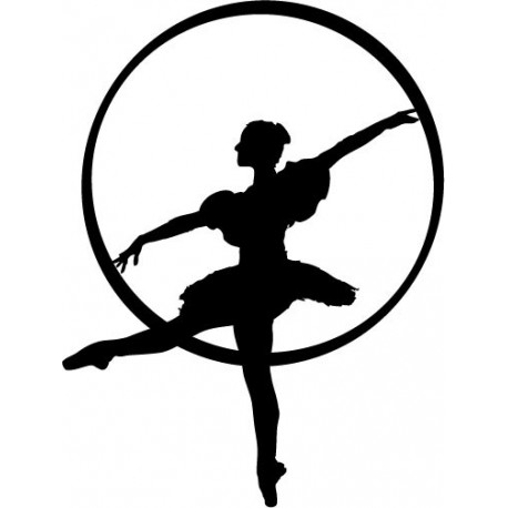 adhesivo decorativo Bailarina Ballet