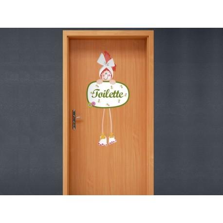 pegatina decorativa Vinilo Baño Toilette