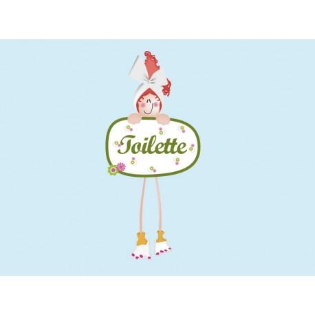 vinilos imagen producto Vinilo Baño Toilette