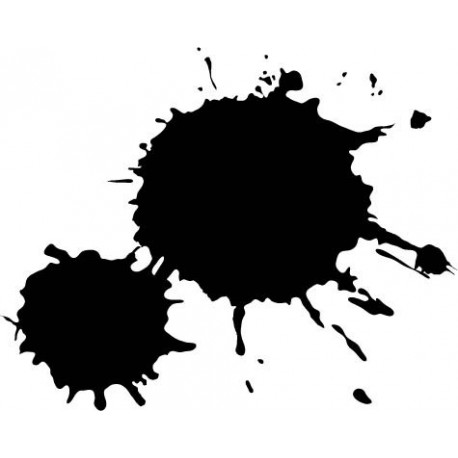 Mancha Pintura 1 adhesivo decorativo ambiente