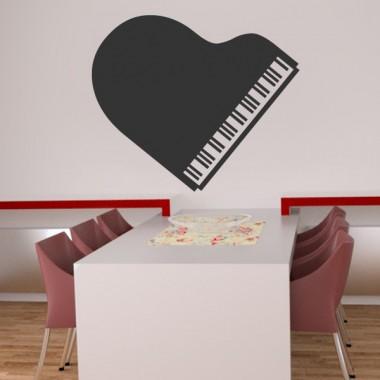 Piano imagen vinilo decorativo