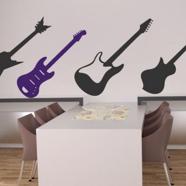 Guitarra 4 imagen vinilo decorativo