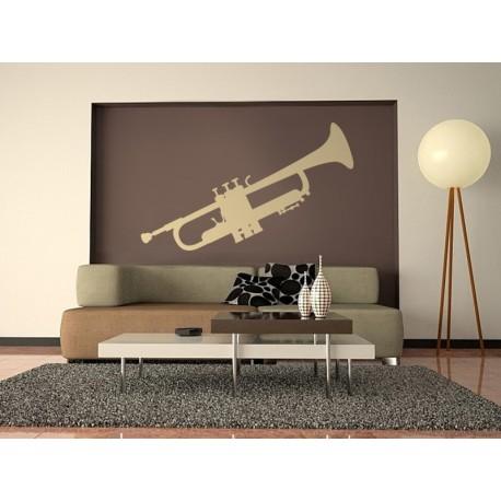 vinilo decorativo Trompeta 2
