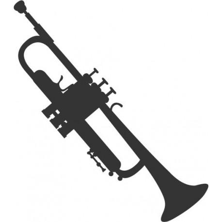 pegatina decorativa Trompeta 2