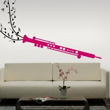 vinilos imagen producto Clarinete Instrumento
