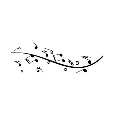 Sinfonía Musical imagen vinilo decorativo