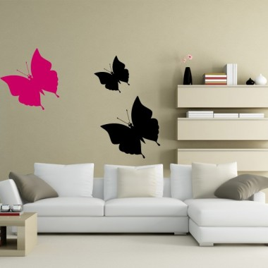 pegatina decorativa Mariposas