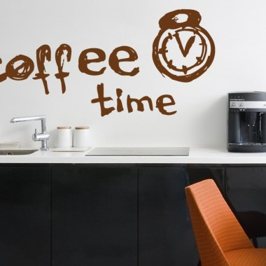 vinilos imagen producto Coffee Time