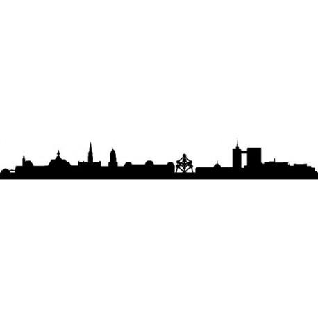 vinilos imagen producto Skyline Bruselas