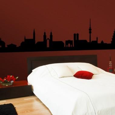 vinilo decorativo Skyline Munich