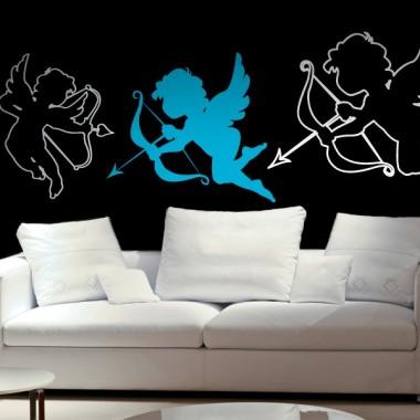Cupido adhesivo decorativo ambiente