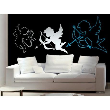 pegatina decorativa Contorno de Cupido