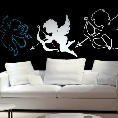 pegatina pared Detalle de Cupido