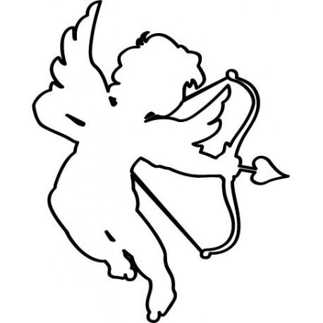 adhesivo decorativo Detalle de Cupido