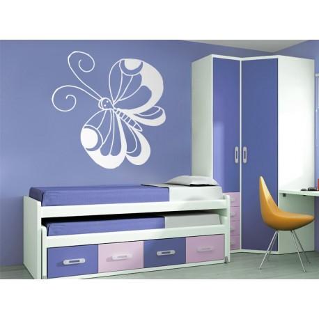 vinilos imagen producto Mariposa Fantasy 2