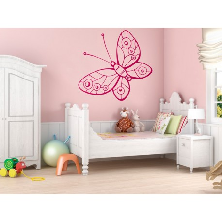 Mariposa Fantasy 3 imagen vinilo decorativo