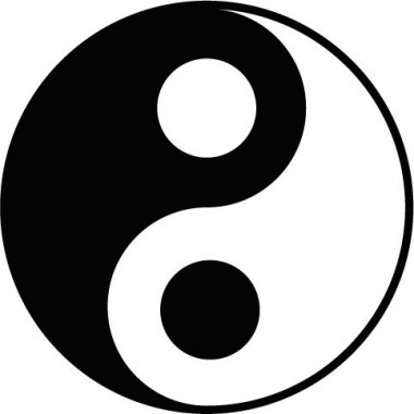 pegatina decorativa Yin Yang