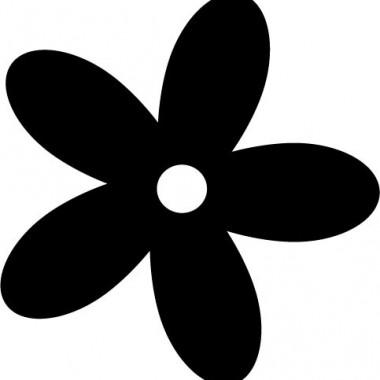 adhesivo decorativo Florecilla