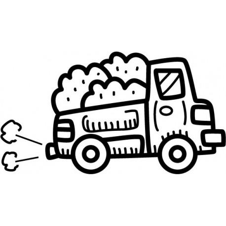vinilos imagen producto Camión