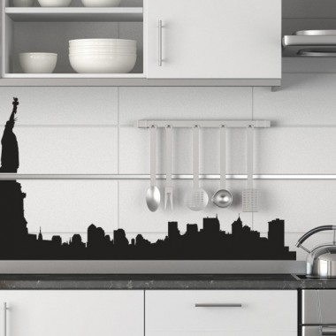 pegatina decorativa Skyline Manhattan