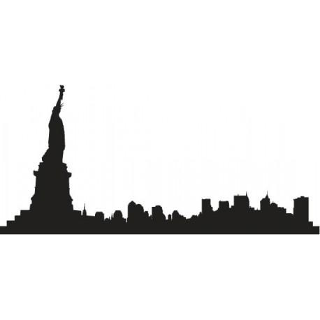vinilos imagen producto Skyline Manhattan