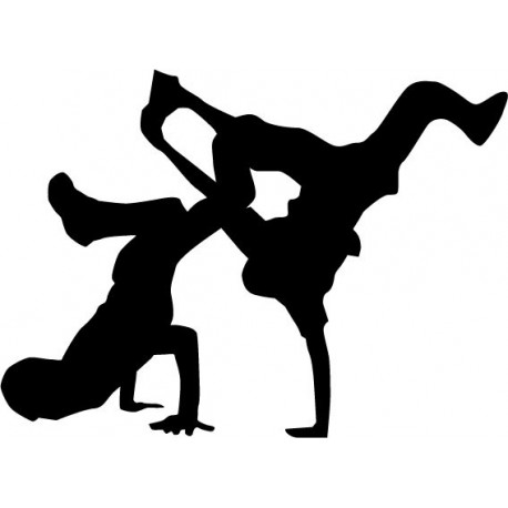BreakDance adhesivo decorativo ambiente