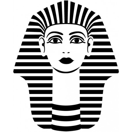 Egipto Motivo I decoración con vinilo