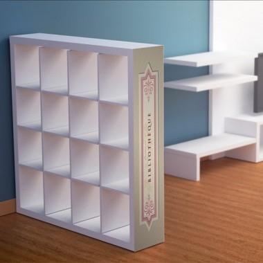 Biblioteca para Estantería imagen vinilo decorativo