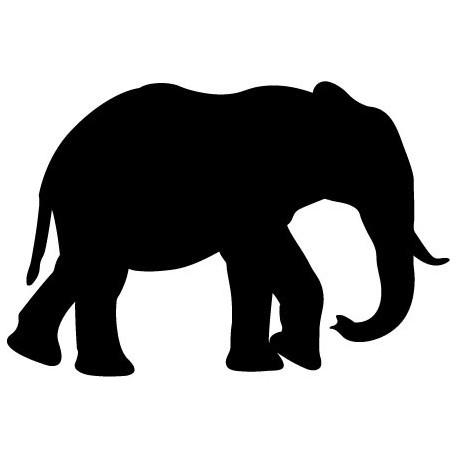 Elefante Motivo I decoración con vinilo