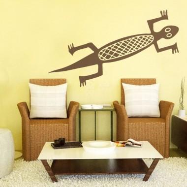 Salamandra Motivo decoración con vinilo