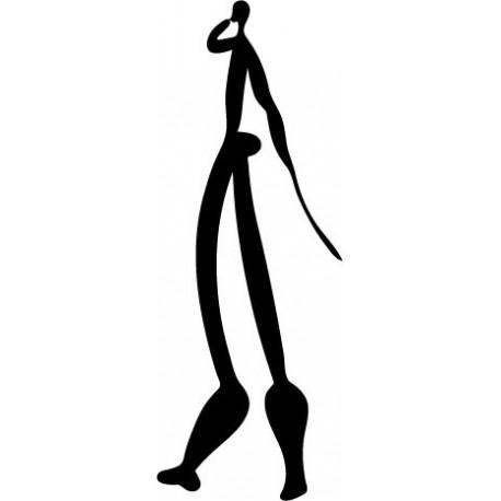 Icono Tribal I imagen vinilo decorativo