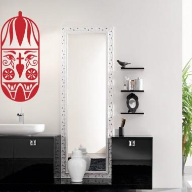 Tribal Motivo V adhesivo decorativo ambiente