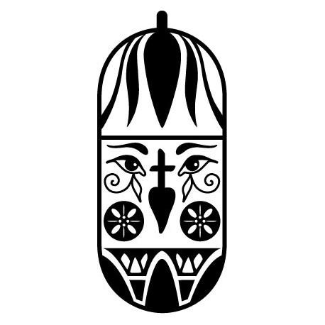 Tribal Motivo V decoración con vinilo