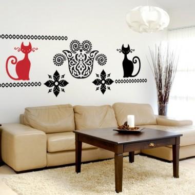 pegatina decorativa Gato Motivo I