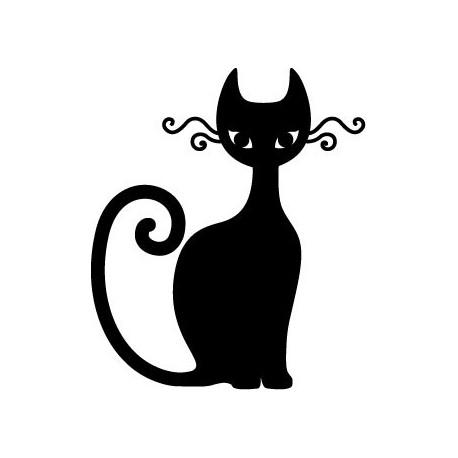 vinilo decorativo Gato Motivo I