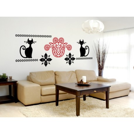 adhesivo decorativo Tribal Motivo VII