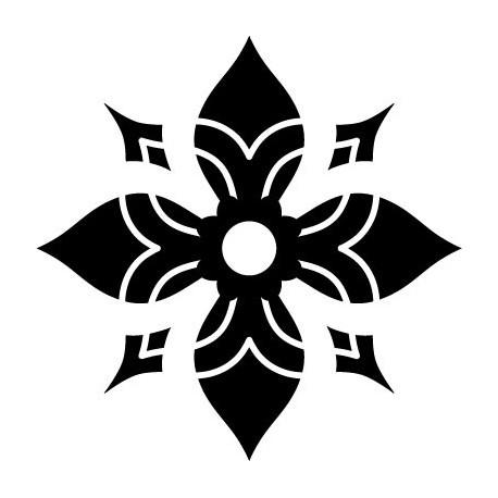 Tribal Motivo VIII adhesivo decorativo ambiente