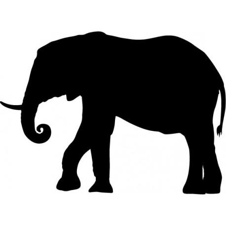 Elefante Motivo II producto vinilos